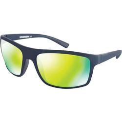 Mens Plastic Sport Wrap Sunglasses