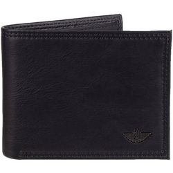 Dockers Mens Slim Tri-Fold Wallet