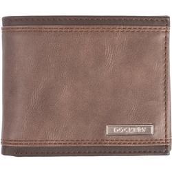 Mens RFID-Blocking Slim Fold Wallet