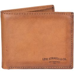 Levi's Mens Extra Capacity Slimfold Wallet