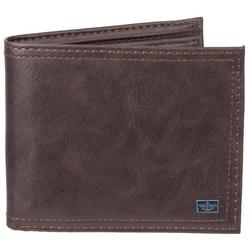 Mens RFID-Blocking X-Cap Slim Fold Wallet
