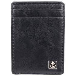 Mens Solid Wide Magnetic Wallet
