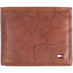 Mens Huck RFID Leather Traveler Wallet