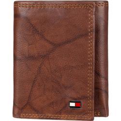 Mens Huck RFID Leather Tri-Fold Wallet