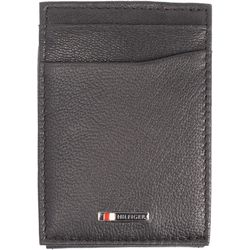 Tommy Hilfiger Mens Lloyd Magnetic Front Pocket Wallet