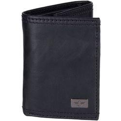 Mens RFID-Blocking Extra Capacity Tri-Fold Wallet