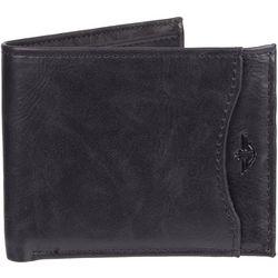 Mens RFID-Blocking Passcase Wallet