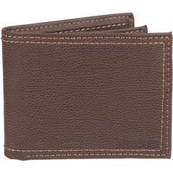 Mens RFID-Blocking Extra Capacity Slimfold Wallet