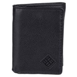Mens RFID Shield Trifold Leather Wallet