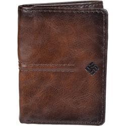 Mens RFID-Blocking Trifold Closure Wallet