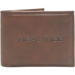Realtree Mens RFID Passcase Wallet