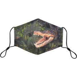 Mens Graphic Alligator Mask