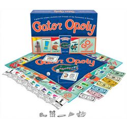 Late For The Sky Gator-Opoly Board Game