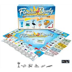 Late For The Sky Florida-Opoly Board Game