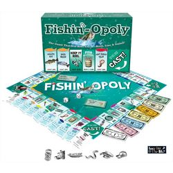 Late For The Sky Fishin-Opoly Board Game