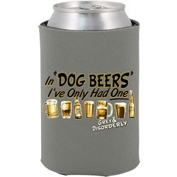 Grey & Disorderly In Dog Beers Can Cooler