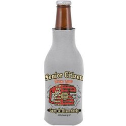 Grey & Disorderly Senior Citizen Text Codes Bottle