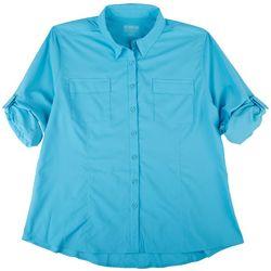 Reel Legends Plus Saltwater Button Down Shirt