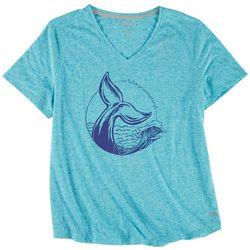 Reel Legends Plus Whale Tail T-Shirt