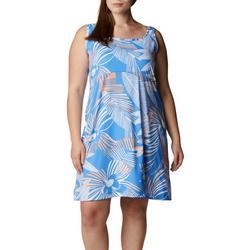 Womens PFG Tropical Printed Sleevless Dress