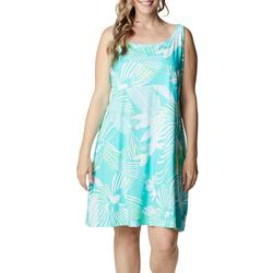 Plus PFG Floral Dress