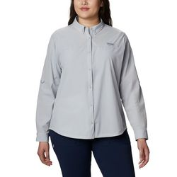 Columbia Plus Coral Point Long Sleeve Woven Shirt