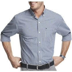 IZOD Mens Button Up Long Sleeve Shirt