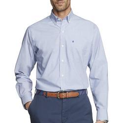 Mens Advantage Solid  Long Sleeve Shirt