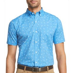 IZOD Mens Saltwater Bonefish Short Sleeve Shirt
