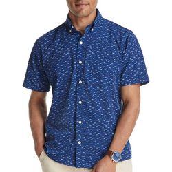 IZOD Mens Saltwater Sails & Suds Short Sleeve T-Shirt