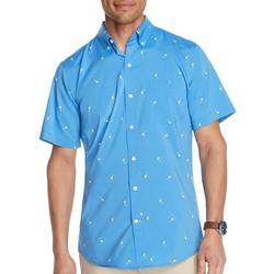 Mens Advantage Margarita Print Short Sleeve Shirt