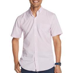 Mens Advantage Mini Fish Print Short Sleeve Shirt