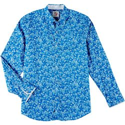 Marti Kat Mens Floral Long Sleeve Shirt