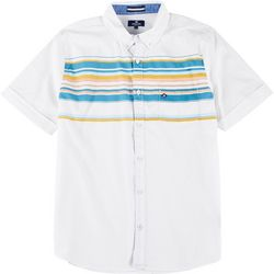 Sperry Mens Sunkissed Woven Short Sleeve Shirt