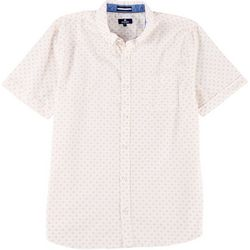 Sperry Mens Daisies Woven Short Sleeve Shirt