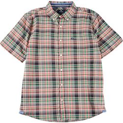 Sperry Mens Cranston Woven Short Sleeve Shirt