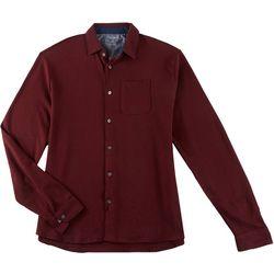 Van Heusen Mens Big & Tall Triangle Long Sleeve Shirt