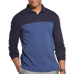 Van Heusen Mens Flex Colorblock Polo Shirt