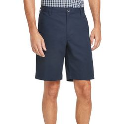 Mens Solid Classic Fit Shorts