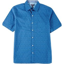 Van Heusen Mens Never Tuck Mini Floral Button Down Shirt