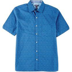 Van Heusen Mens Never Tuck Mini Floral Button Down Shirt