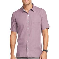 Van Heusen Mens Weekend Slim Fit V-Neck Short Sleeve T-Shirt