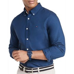 Tommy Hilfiger Mens Oxford Long Sleeve Shirt