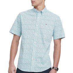 Tommy Hilfiger Mens Cove Floral Short Sleeve Shirt