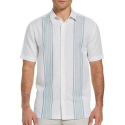 Mens Two Tone Wide Panel Woven Shirt