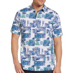 Cubavera Mens Ecoselect Tropical Woven Shirt