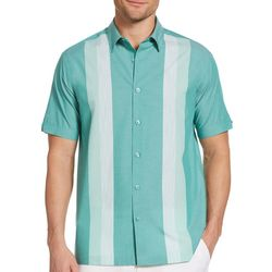 Cubavera Mens Ecoselect Vertical Stripe Shirt