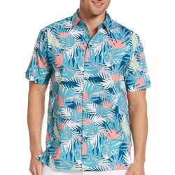 Cubavera Mens Tropical Flamingo Shirt