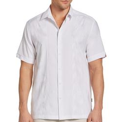 Mens Embroidered Panel Woven Shirt