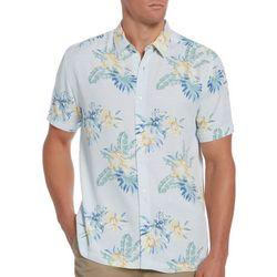 Cubavera Mens Multi Summer Woven Shirt
